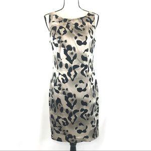 Ann Taylor Leopard print dress